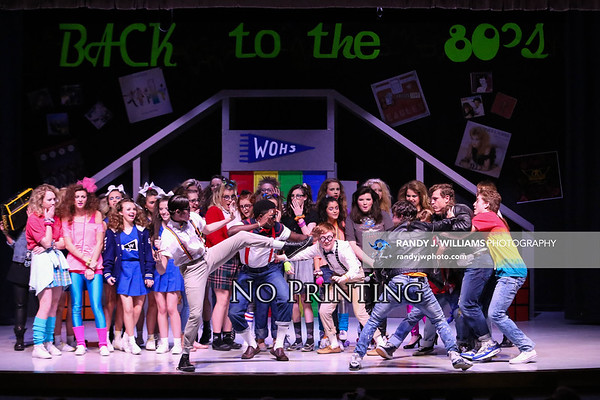 """TCHS Bravada Presents: """"Back to the 80s: The Totally Awesome Musical"""""""