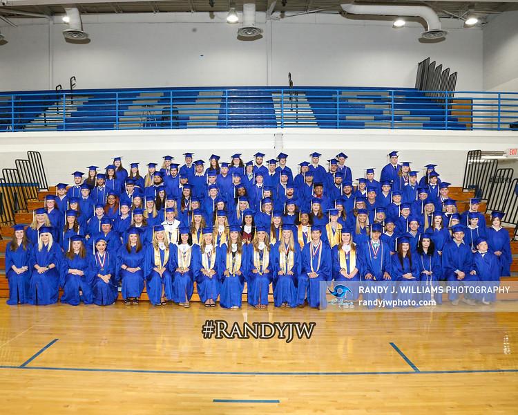Tishomingo County's Graduation Practice 2020