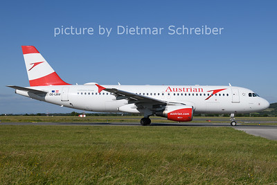2021-06-13 OE-LBW AIrbus A320 Austrian AIrlines