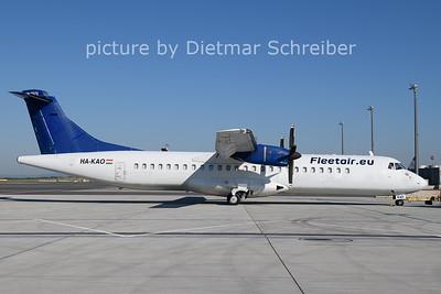 2021-06-17 HA-KAO ATR72 Fleet Air