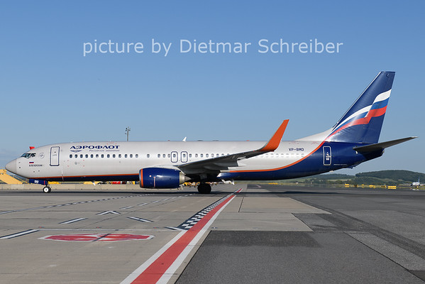 2021-06-13 VP-BMD Boeing 737-800 Aeroflot