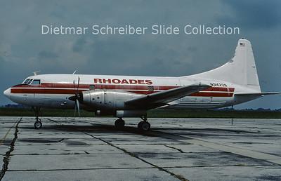2001-09 N94226 Convair CV600F (c/n 48) Rhoades
