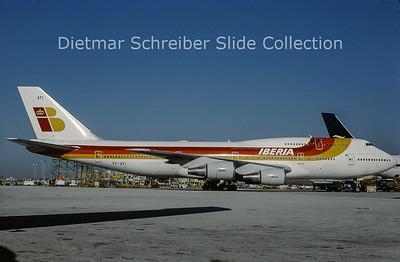 2001-09 TF-ATI Boeing 747-341 (c/n 24107) Iberia