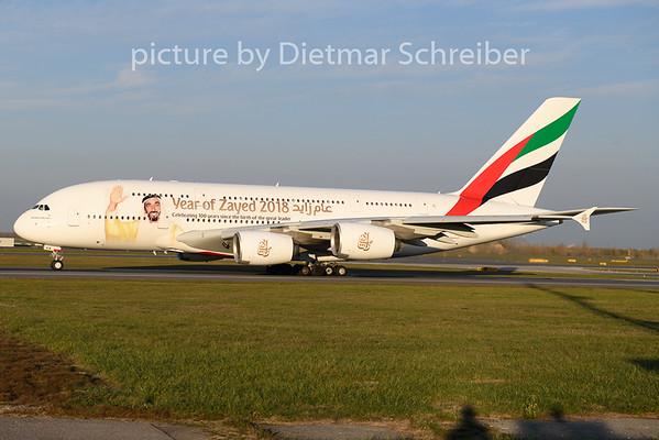 2018-11-15 A6-EUA Airbus A380 Emirates