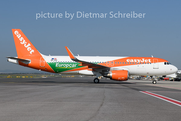2018-09-20 OE-IVV Airbus A320 Easyjet Europe