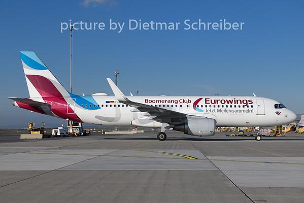 2018-11-14 D-AEWM Airbus A320 Eurowings