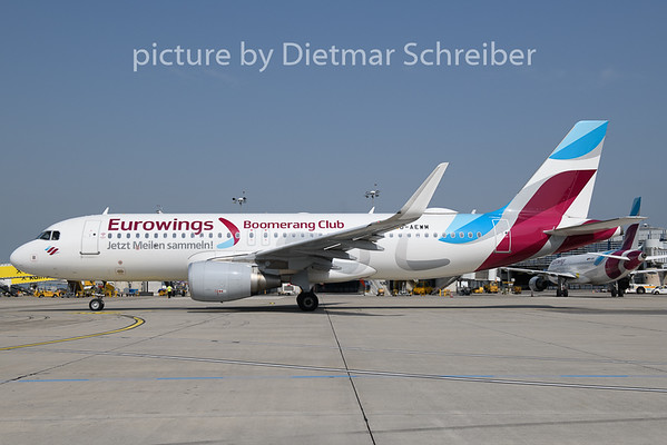 2019-06-13 D-AEWM Airbus A320 Eurowings