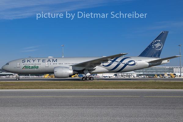 2018-11-15 EI-DDH Boeing 777-200 Alitalia