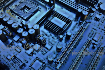 Circuit Board II Midnight Glow