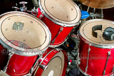Drum Set in Project Studio Ready to Play