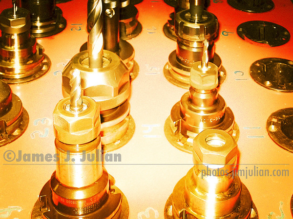 Drill Bits in Chucks 1 Fired-Up