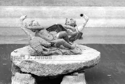 The Pond Cherubs Close BW