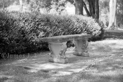 Concrete Bench BW