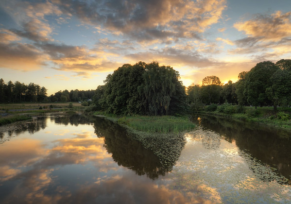 Arboga Lake Sunset