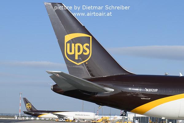 2021-09-23 N392UP Boeing 767-300 UPS