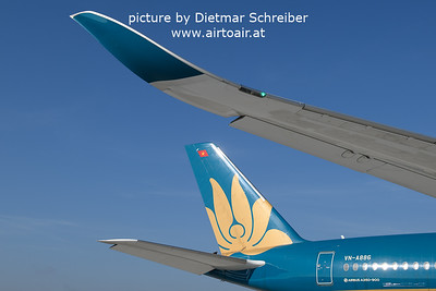 2021-10-04 VN-A886 Airbus A350-900 Vietnam Airlines