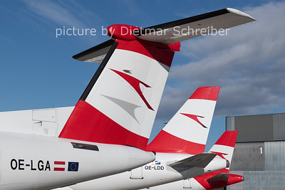 2020-11-17 OE-LGA Dash 8-400 Austrian Airlines