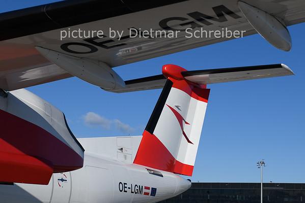2020-12-26 OE-LGM Dash8-400 AUstrian AIrlines