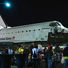 Endeavour stopping at Inglewood, CA.