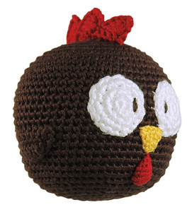 Rooster Roly Poly Rattle