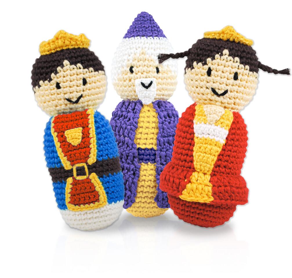 King, Queen & Wizard Rattles
