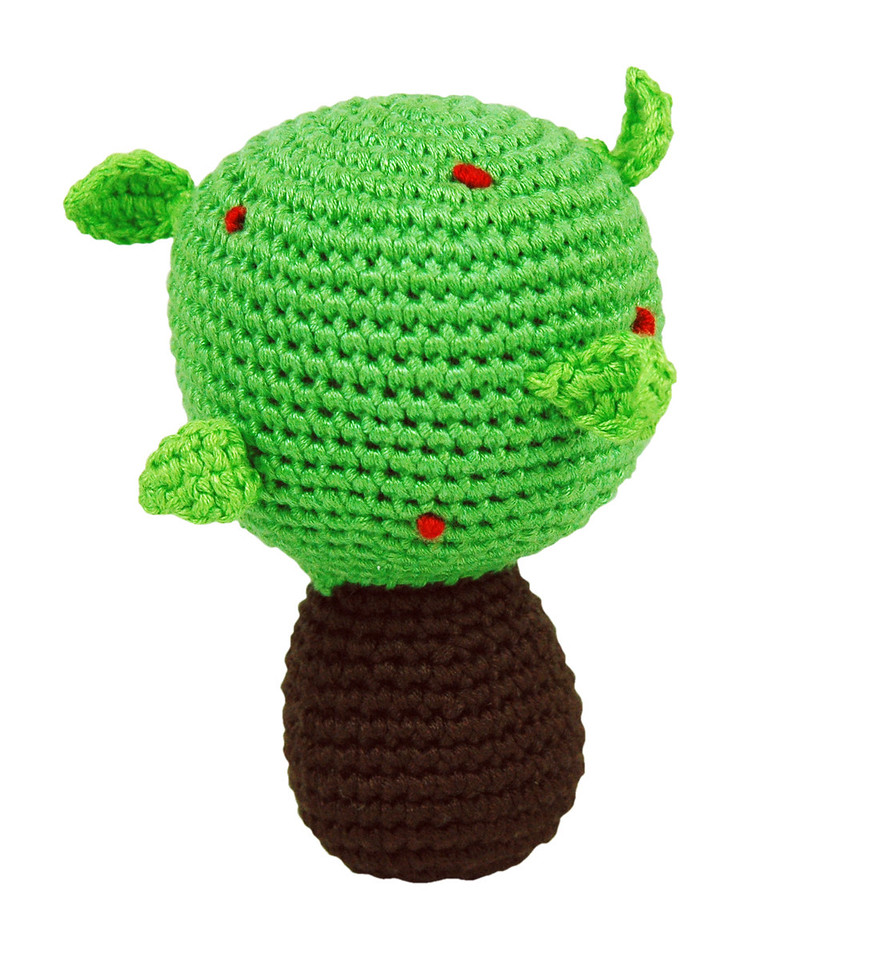Tree Pudgy Rattle