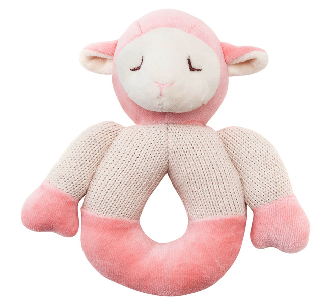 Lamb Knitted Teether