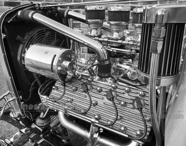 Custom V8 Engine BW FE