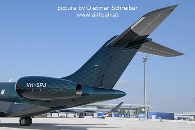 2021-09-26 VH-SPJ GLobalexpress