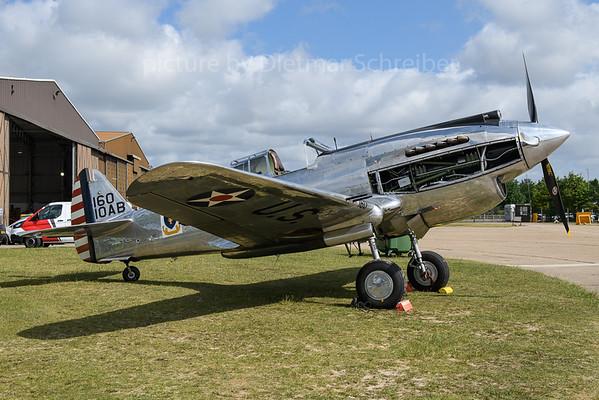 2019-06-03 G-CIIO (41-13357) Curtiss P40