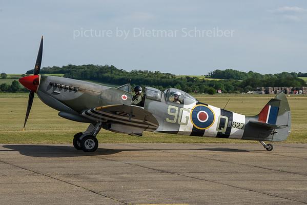 2019-06-01 G-BMSB (MJ627 Spitfire