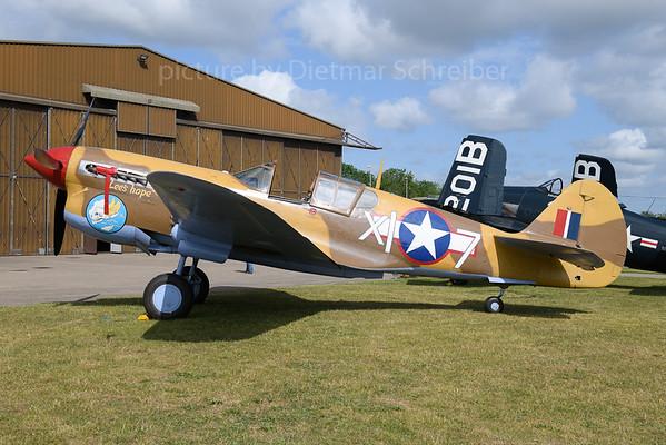 2019-06-03 G-CGZP (X17) Curtiss P40
