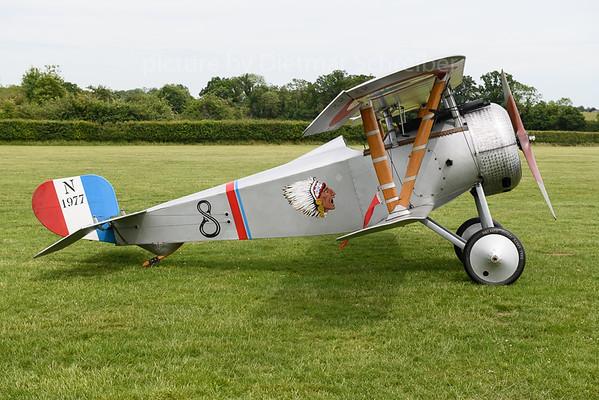 2019-06-01 G-BWMJ / N1977 Nieuport 17
