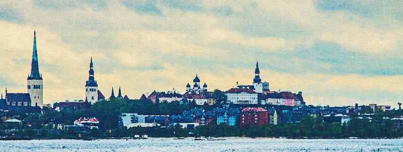 Old Tallinn from the Tallinn Bay