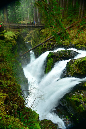 Another Beauty of Solduc Falls