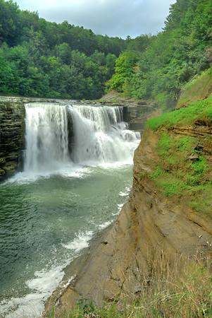 Vertical of Lower Falls