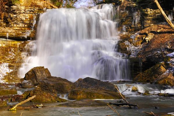 Decew Falls blurred bottom