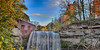 Horizontal and HDR of the Mill and waterfall