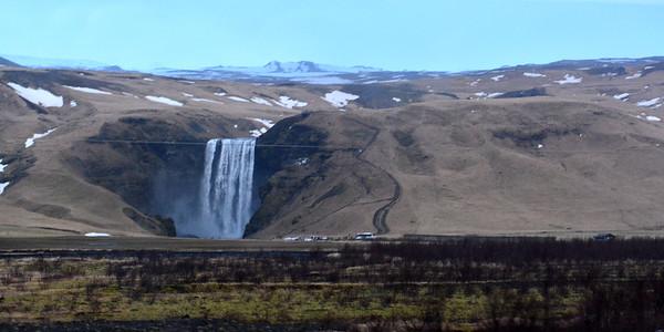 Skogafoss and the Icelandic Landscape