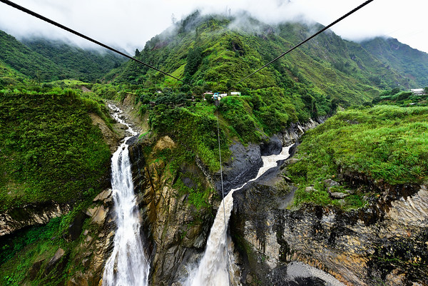 Waterfalls and Cables