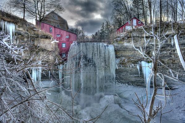 Decew falls before Ice Broke - 18 X 24 for Joanne