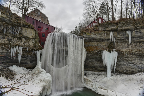 Decew Falls from bottom
