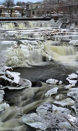 Almone Falls Vertical