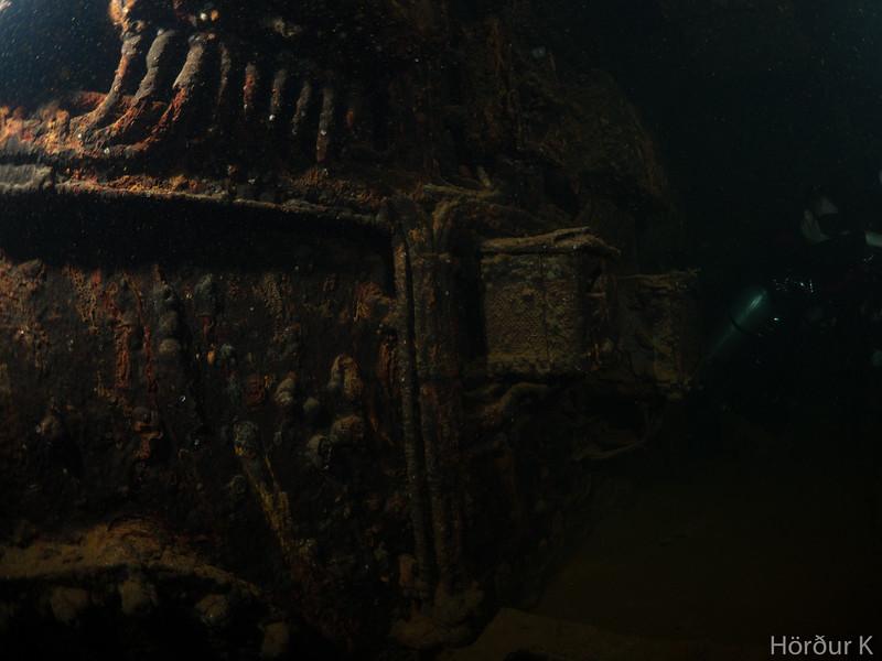 Inside the Fujikawa Maru