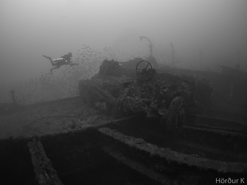 Deck of the Sanfrancisco Maru