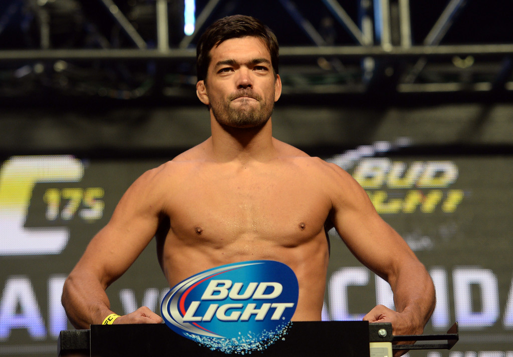 . Lyoto Machida during weigh-ins for UFC 175 at the Mandalay Bay Events Center July 4, 2014. (Photo by Hans Gutknecht/Los Angeles Daily News)
