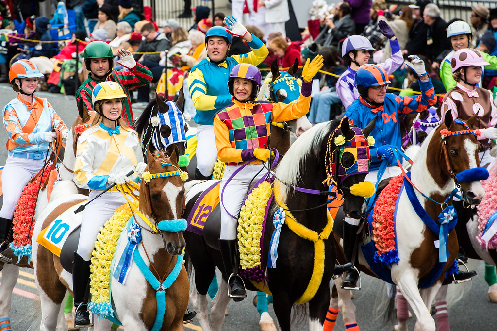 . Scripps Miramar Saddlebreds on Colorado Blvd. during the 2017 Rose Parade in Pasadena on Monday, January 2, 2017. (Photo by Watchara Phomicinda, San Gabriel Valley Tribune/ SCNG)