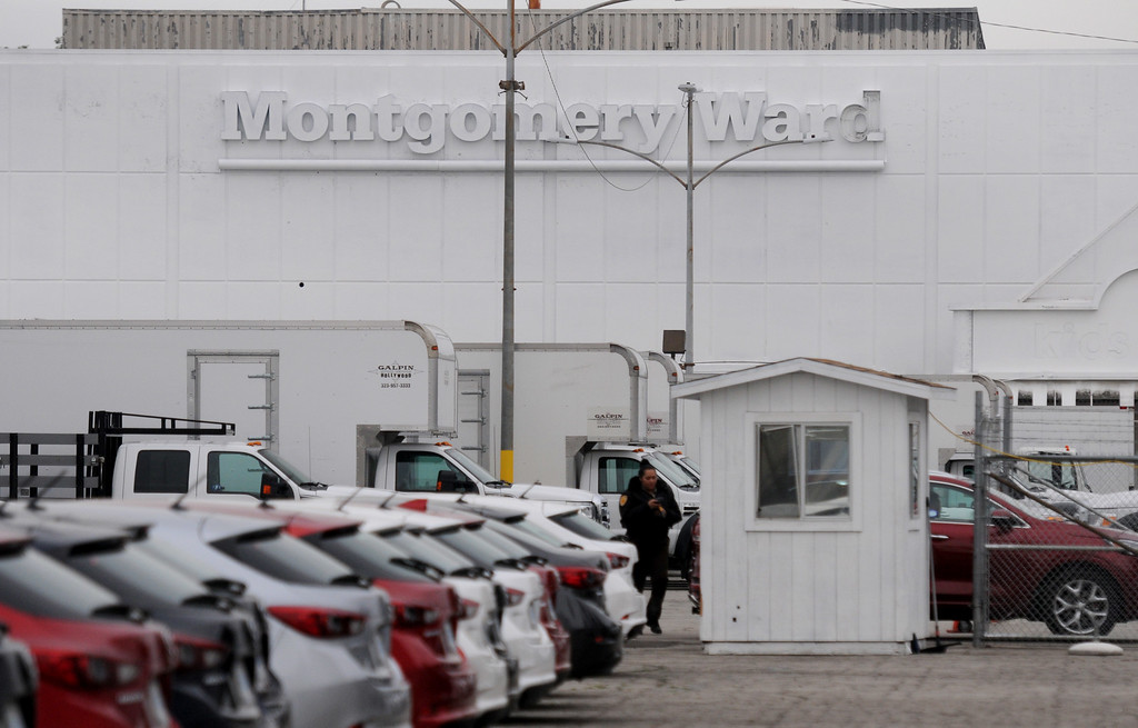 . The Montgomery Ward site in Panorama City , on Roscoe Blvd. west of Van Nuys Blvd., will become a mixed-use development, by ICON.  (Photo by Dean Musgrove, Los Angeles Daily News/SCNG)