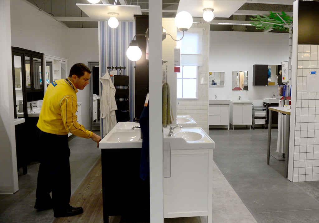 . The 456,000 square-foot new IKEA in Burbank is located on 22 acres. The opening is scheduled for Wednesday, February 8.  IKEA held a media preview on Wednesday, February 1, 2017.  (Photo by Dean Musgrove, Los Angeles Daily News/SCNG)