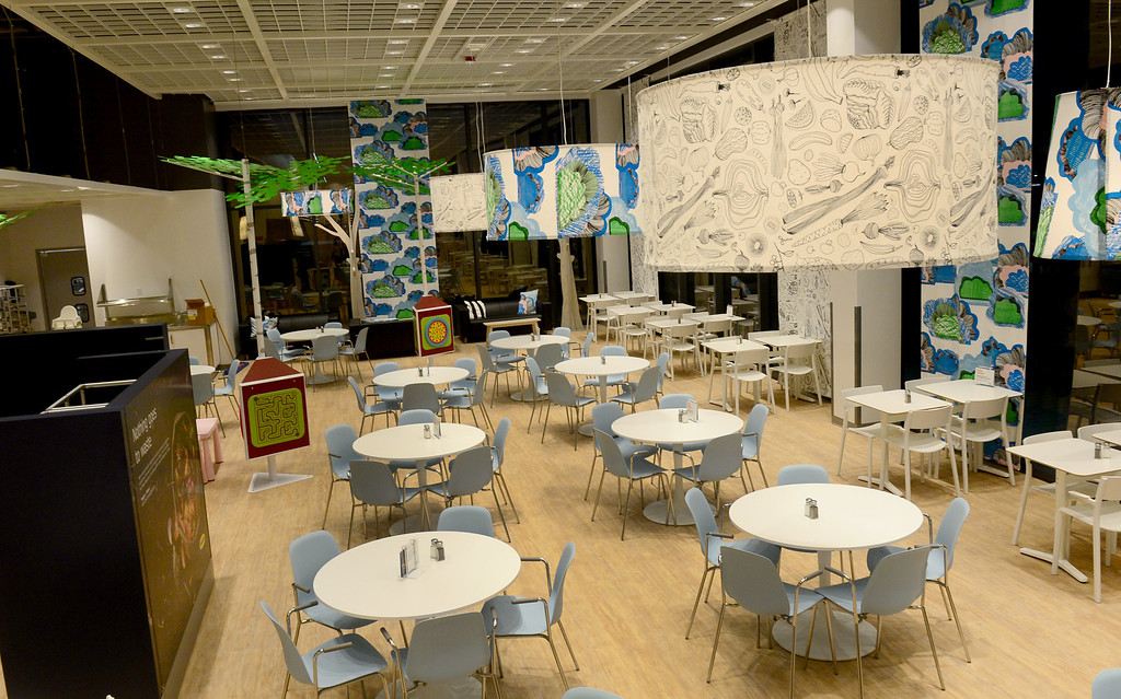 . The IKEA restaurant seats 600.  The 456,000 square-foot new IKEA in Burbank is located on 22 acres. The opening is scheduled for Wednesday, February 8.  IKEA held a media preview on Wednesday, February 1, 2017.  (Photo by Dean Musgrove, Los Angeles Daily News/SCNG)